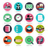 Project Management Icons Royalty Free Stock Photos