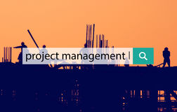 Project Management Planning Estimate Task Concept Stock Image
