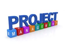 Project management sign Royalty Free Stock Photo