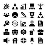Project Management Solid Icons. Collection of  icons about Project Management. Hope you can use it in your next project Royalty Free Stock Photos
