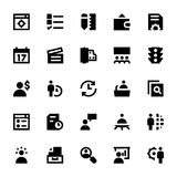 Project Management Vector Icons 3 Stock Photography