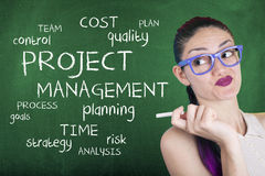 Project Management Word Cloud Stock Images