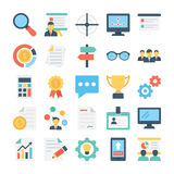 Project Managment Colored Vector Icon 1 Stock Photos