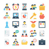 Project Managment Colored Vector Icon 3 Royalty Free Stock Images