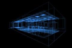 Project office industry. High resolution 3d render vector illustration