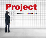 Project Plan Operation Job Strategy Venture Task Concept Royalty Free Stock Photo