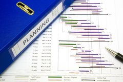 Project planning concept Royalty Free Stock Images
