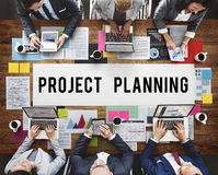 Project Planning Estimate Forecast Predict Task Concept royalty free stock images