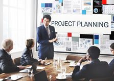Project Planning Information Explaining Ideas Concept Royalty Free Stock Photo