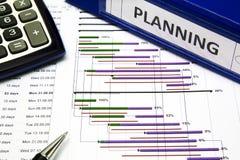 Project planningsconcept royalty-vrije stock afbeeldingen