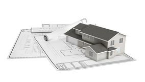 Project plastic home Stock Image