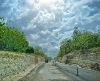 Project road south of java Royalty Free Stock Photos