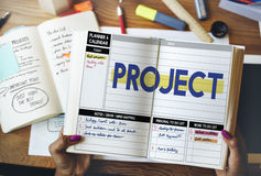 Project Strategy Management Task Plan Concept Stock Photos