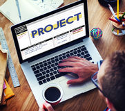 Project Strategy Management Task Plan Concept Royalty Free Stock Photos