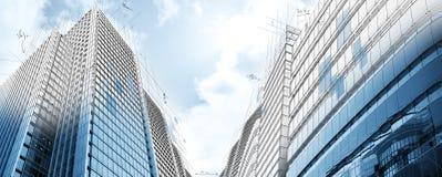 Project van moderne gebouwen stock foto's