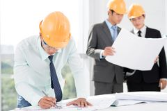 Project workgroup Royalty Free Stock Image