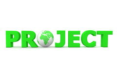 Project World Green Stock Image