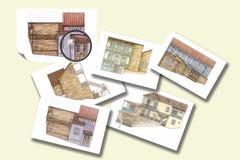 Projecten stock foto's
