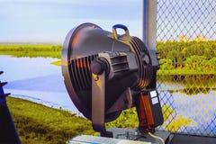Projecteur électrique à la taille Photos libres de droits