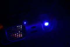 projecteur Photos stock