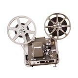 Projecteur de film d'isolement Photo stock