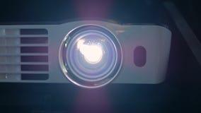 Projecteur de film de Digital clips vidéos