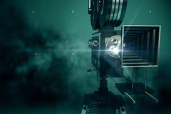 projecteur de film rétro illustration stock