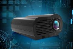 Projecteur de multimédia Photos stock