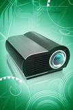 Projecteur de multimédia Images libres de droits