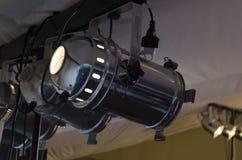 Projecteur de RVB Matériel d'éclairage pour des concerts Images libres de droits