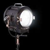 Projecteur de théâtre du vintage 3d ou lumière de studio de film illustration stock
