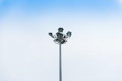 Projecteur, lumières de stade Image libre de droits