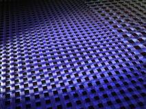 Projecteur sur des cubes en changement de vitesse Image libre de droits