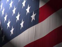 Projecteur sur l'Amérique Images libres de droits