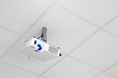 Projecteur sur le plafond Photo libre de droits
