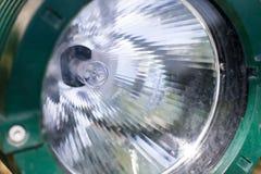 Projecteur vert Photo libre de droits