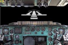 Projecteurs d'atterrissage Photos libres de droits