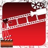 Projecteurs de film Image stock