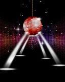 Projecteurs de partie de disco Photographie stock libre de droits