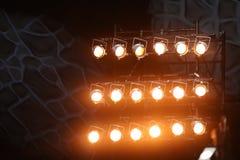Projecteurs légers Photographie stock libre de droits