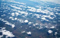 Projectile aérien Photographie stock libre de droits