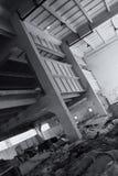 Projectile abstrait d'architecture. Image stock