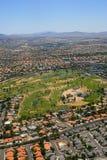 Las Vegas aérien Photographie stock libre de droits