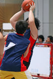 Projectile de basket-ball Image libre de droits