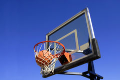 Projectile de basket-ball Images stock