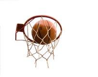 PROJECTILE DE BASKET-BALL Photographie stock libre de droits