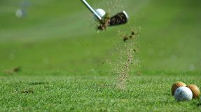Projectile de golf image stock