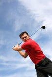 Projectile de golf Photographie stock libre de droits