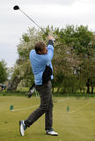 Projectile de golf Photo stock