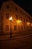 Projectile de nuit Photo stock